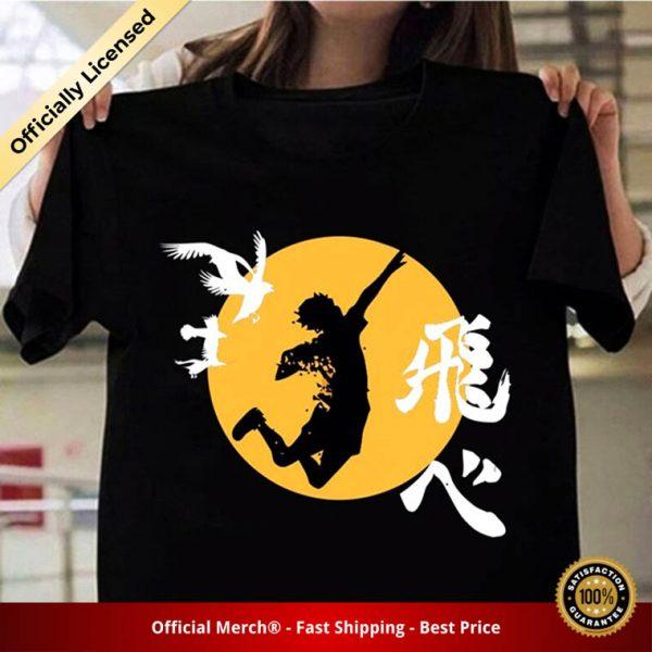 2020 Anime Haikyuu Cool Print Shirt Casual Volleyball Short Sleeve Harajuku T shirt Tops 2 - Haikyuu Merch Store