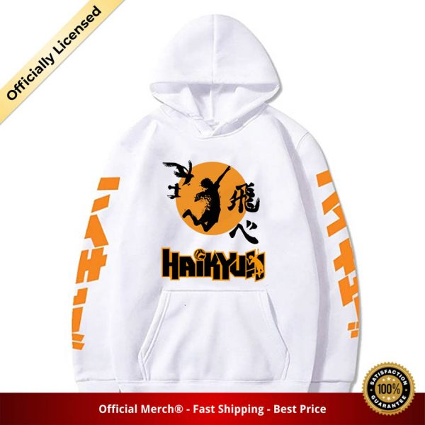 2020 Japan Anime Haikyuu Cosplay Hoodie Women Men Harajuku Sweatshirt Karasuno High School Pullover Hooded Jacket 1 - Haikyuu Merch Store