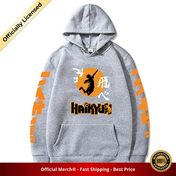 2020 Japan Anime Haikyuu Cosplay Hoodie Women Men Harajuku Sweatshirt Karasuno High School Pullover Hooded Jacket 5 - Haikyuu Merch Store