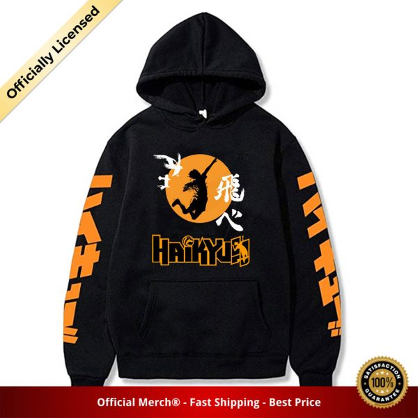 2020 Japan Anime Haikyuu Cosplay Hoodie Women Men Harajuku Sweatshirt Karasuno High School Pullover Hooded Jacket - Haikyuu Merch Store