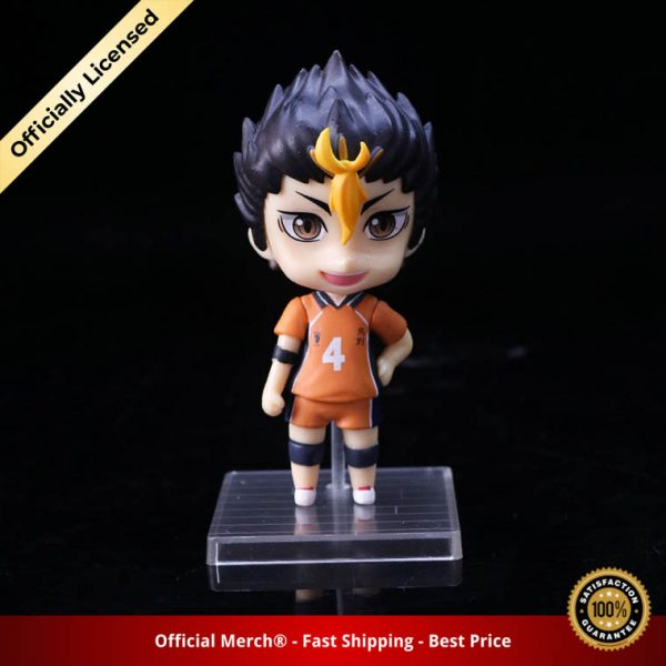 6pcs set Haikyuu Cute PVC Anime Figure Toys Hinata Shoyo Tobio Kenma Tooru Yuu Kei Model 2 - Haikyuu Merch Store