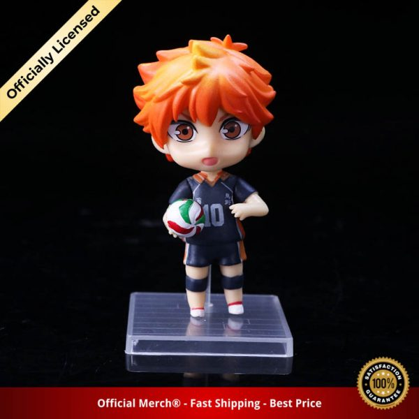 6pcs set Haikyuu Cute PVC Anime Figure Toys Hinata Shoyo Tobio Kenma Tooru Yuu Kei Model 3 - Haikyuu Merch Store
