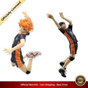 Action Figures Haikyuu Kageyama Tobio Hinata Shoyo Play Volleyball PVC Toys Syouyou Anime Figma Model Brinquedos - Haikyuu Merch Store