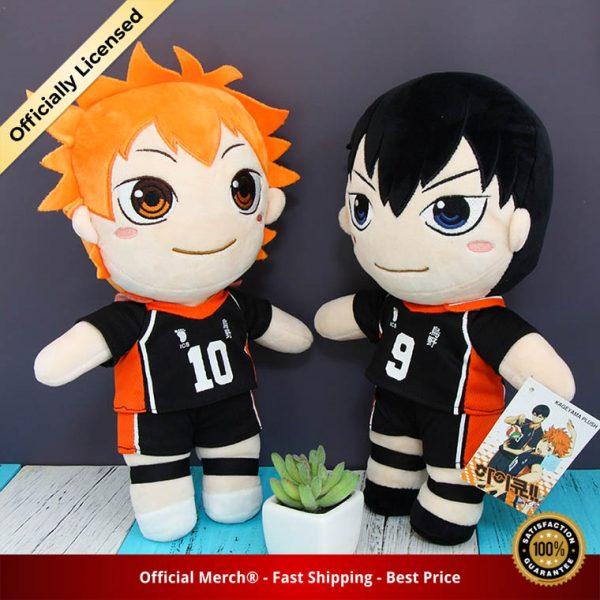 Anime Haikyuu Plush Toys Hinata Shoyo Kageyama Tobio Dolls Brinquedos Haikyu Figurine Toy 30cm 1 - Haikyuu Merch Store