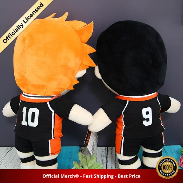 Anime Haikyuu Plush Toys Hinata Shoyo Kageyama Tobio Dolls Brinquedos Haikyu Figurine Toy 30cm 2 - Haikyuu Merch Store