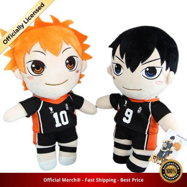 Anime Haikyuu Plush Toys Hinata Shoyo Kageyama Tobio Dolls Brinquedos Haikyu Figurine Toy 30cm - Haikyuu Merch Store