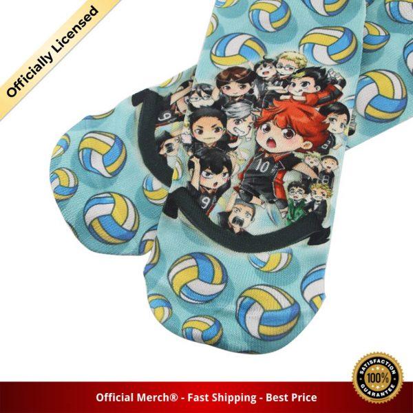 DZ985 Cute Haikyuu Anime Happy Socks Casual Creative Soft Comfortable Funny Novelty Men Women Cotton 5 - Haikyuu Merch Store