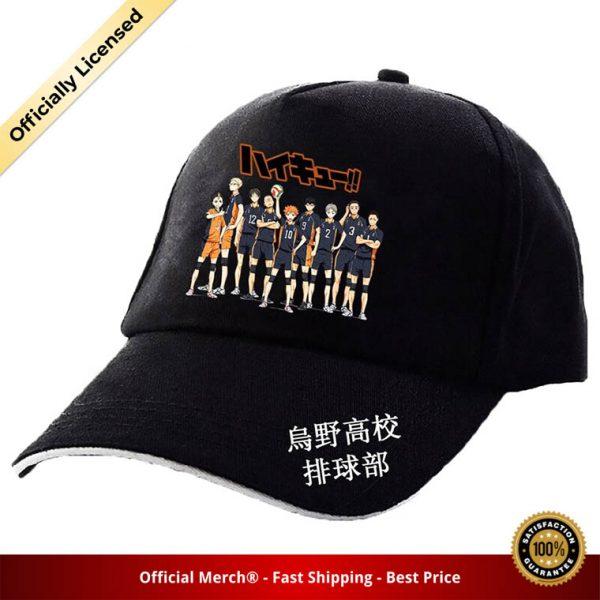Haikyuu Classic Baseball Cap Volleyball Junior Men Women Caps Haikyuu Volleyball Japanese Animation Caps 4 - Haikyuu Merch Store