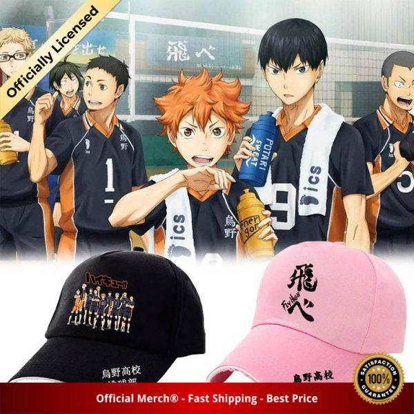 Haikyuu Classic Baseball Cap Volleyball Junior Men Women Caps Haikyuu Volleyball Japanese Animation Caps - Haikyuu Merch Store