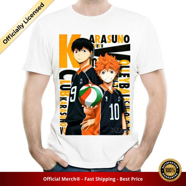 Haikyuu T Shirt White Color Mens Fashion Short Sleeve Anime Haikyuu T shirt Tops Tees tshirt 4 - Haikyuu Merch Store