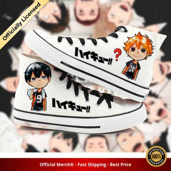 anime Haikyuu cosplay Canvas Shoes plimsolls rope soled shoes hinata shoyo kageyama tobio Preppy rope soled 1 - Haikyuu Merch Store