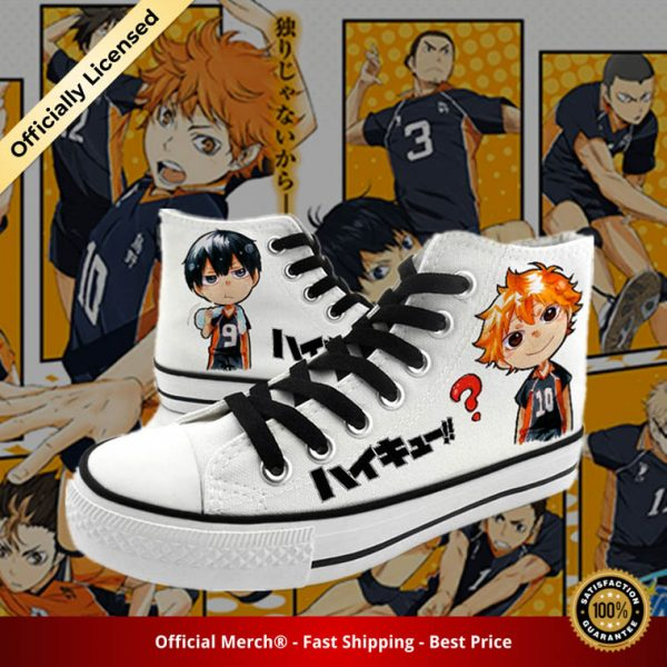 anime Haikyuu cosplay Canvas Shoes plimsolls rope soled shoes hinata shoyo kageyama tobio Preppy rope soled - Haikyuu Merch Store