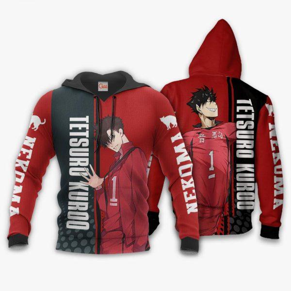 1209 AOP Haikyuu Characters VA Tetsuro Kuroo 2 hoodie font and back - Haikyuu Merch Store