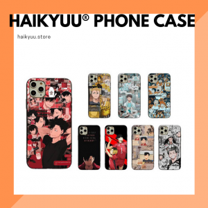 Haikyuu Phone Case Collection