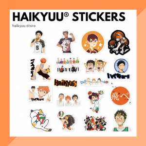 Haikyuu Stickers Collection