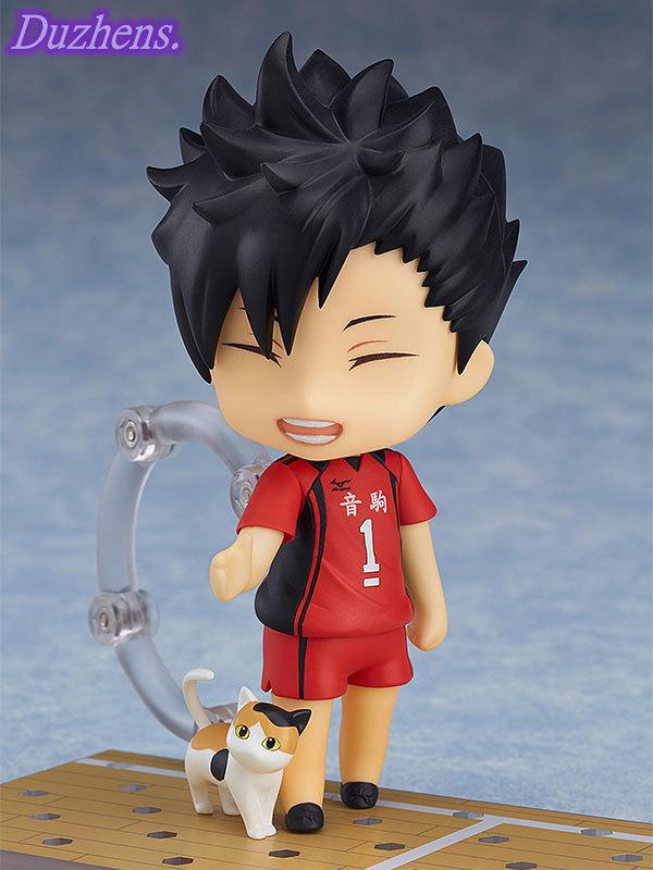 100 Original genuine Haikyuu Kuroo Tetsurou Q version figma PVC Action Figure Anime Figure Model Toys 3 - Haikyuu Merch Store