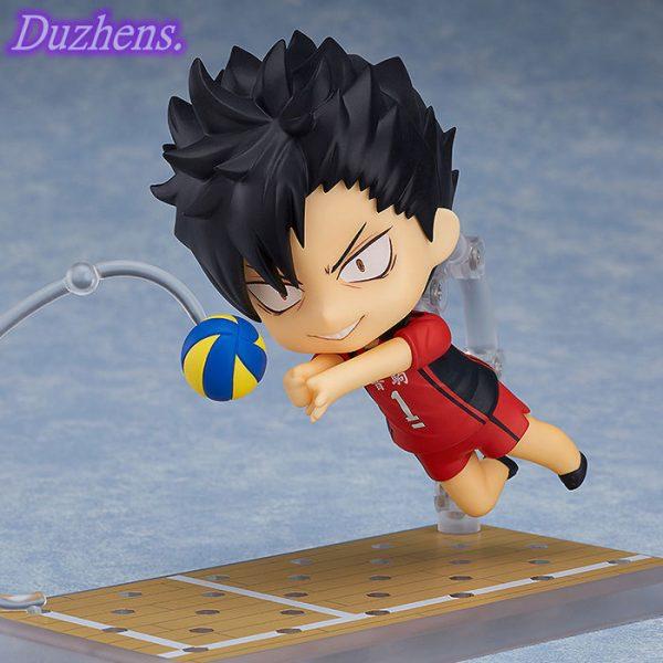 100 Original genuine Haikyuu Kuroo Tetsurou Q version figma PVC Action Figure Anime Figure Model Toys 4 - Haikyuu Merch Store