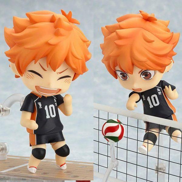 461 Shoyo Hinata Haikyuu Anime Transformer Toys Action Figure Volleyball Movable Figurine Accessories 3 Faces 1 - Haikyuu Merch Store