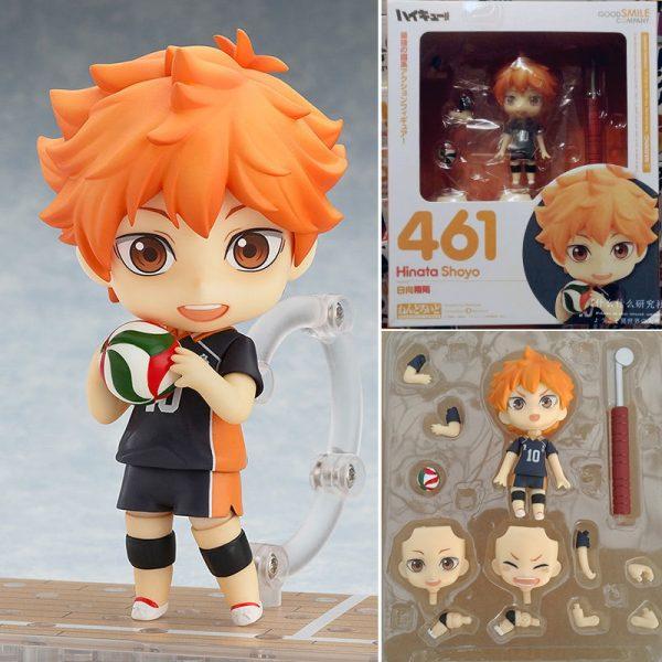 461 Shoyo Hinata Haikyuu Anime Transformer Toys Action Figure Volleyball Movable Figurine Accessories 3 Faces - Haikyuu Merch Store