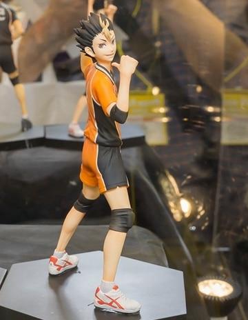 Anime Cartoon Original DXF Haikyuu tanaka ryunosuke nishinoya yuu Volleyball 14CM PVC Action Figure Collectible Toy 1 - Haikyuu Merch Store