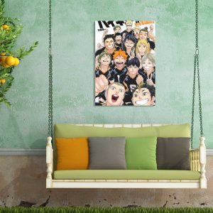 Anime Haikyuu Wall Posters Study Living Room Home Decor Pictures Comic Exhibition Display Wall Art Painting 2 - Haikyuu Merch Store