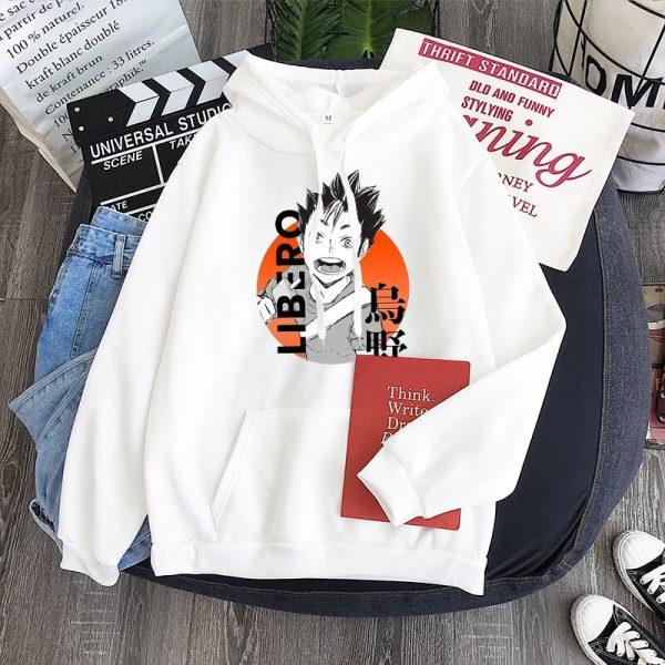 Yu Nishinoya Haikyuu Cartoon Print Hoodies Sweatshirt Men Harajuku Karasuno High School Funny Pullover Winter Oversized 5 - Haikyuu Merch Store