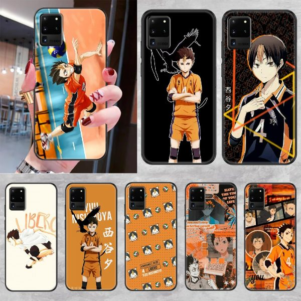 Yu Nishinoya Haikyuu Phone case For Samsung Galaxy Note 4 8 9 10 20 S8 S9 - Haikyuu Merch Store
