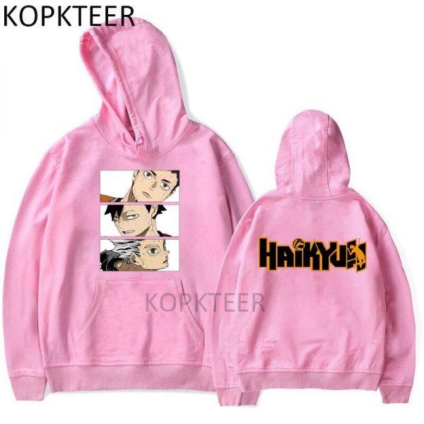 Yuu Nishinoya Haikyuu Anime Hoodies Men Funny Hoodies Autumn Winter Long Sleeve O Neck Harajuku Women 1 - Haikyuu Merch Store