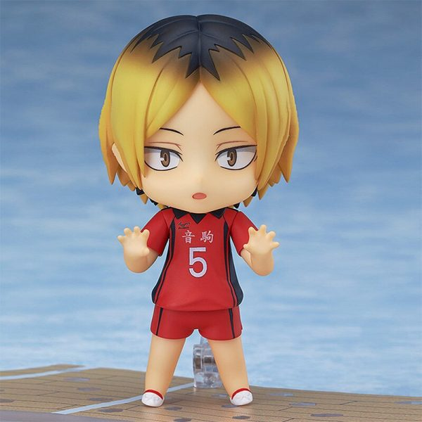 10CM Anime Haikyuu Figure Toys 605 Kozume Kenma Q Version Clay Doll Nekoma High School Volleyball 1 - Haikyuu Merch Store