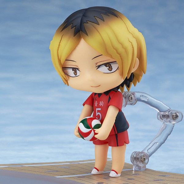 10CM Anime Haikyuu Figure Toys 605 Kozume Kenma Q Version Clay Doll Nekoma High School Volleyball 2 - Haikyuu Merch Store