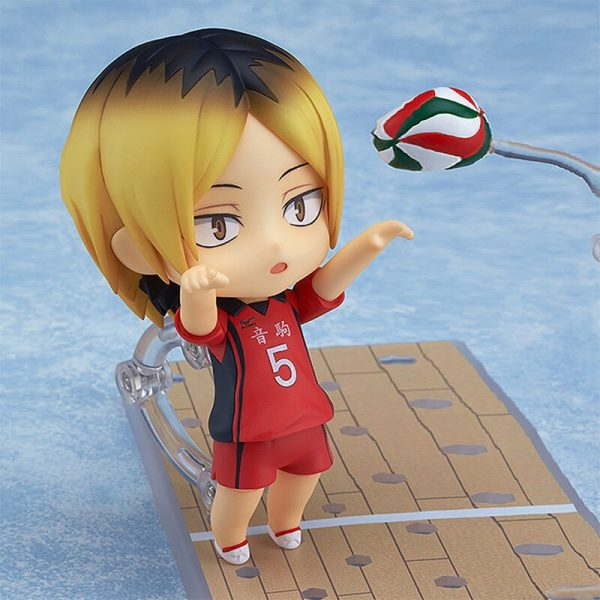 10CM Anime Haikyuu Figure Toys 605 Kozume Kenma Q Version Clay Doll Nekoma High School Volleyball 3 - Haikyuu Merch Store
