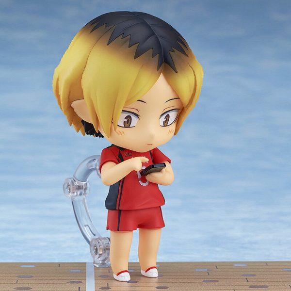 10CM Anime Haikyuu Figure Toys 605 Kozume Kenma Q Version Clay Doll Nekoma High School Volleyball 4 - Haikyuu Merch Store