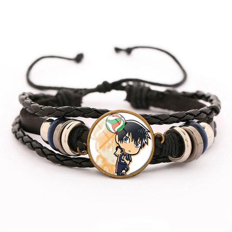 13 haikyuu oikawa tooru leather bracelet ac variants 12 - Haikyuu Merch Store