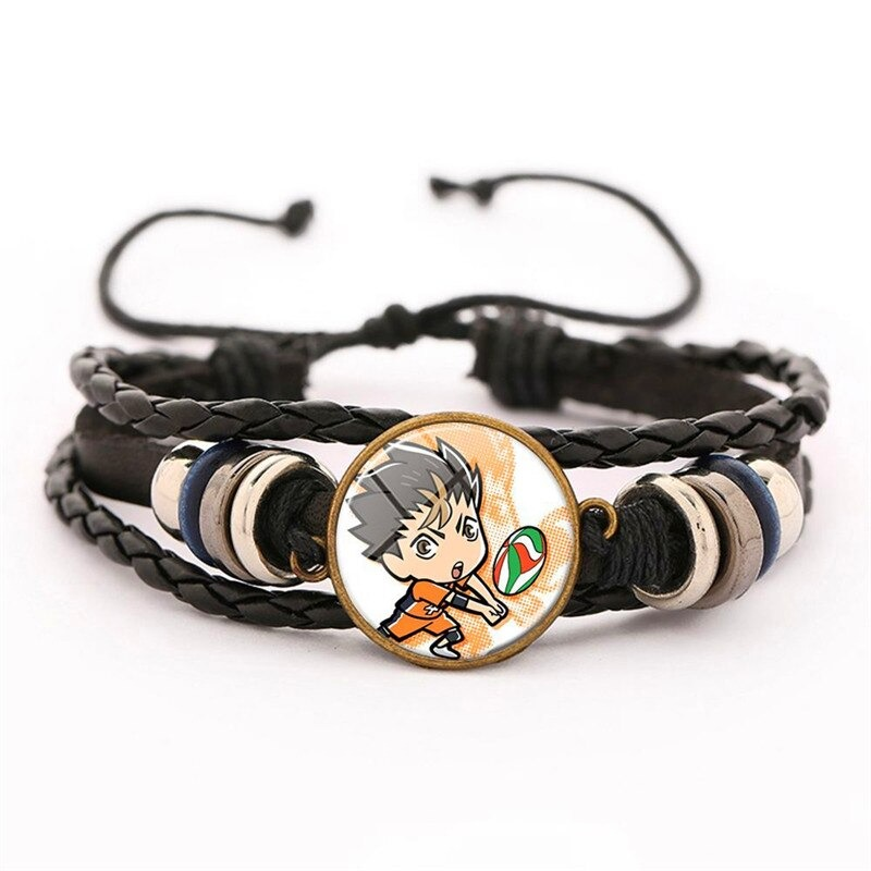 14 haikyuu oikawa tooru leather bracelet ac variants 13 - Haikyuu Merch Store