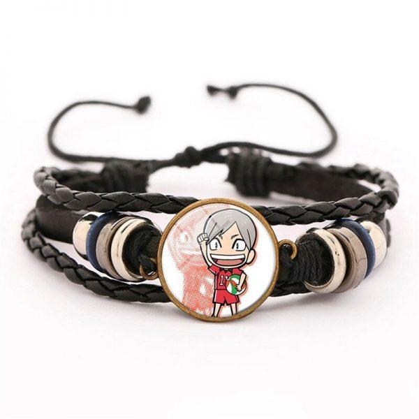 16 haikyuu oikawa tooru leather bracelet ac variants 15 - Haikyuu Merch Store
