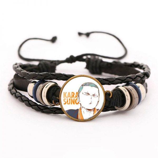 18 haikyuu oikawa tooru leather bracelet ac variants 17 - Haikyuu Merch Store