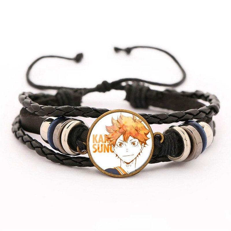 19 haikyuu oikawa tooru leather bracelet ac variants 18 - Haikyuu Merch Store