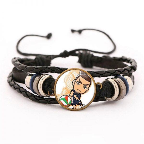 24 haikyuu oikawa tooru leather bracelet ac variants 23 - Haikyuu Merch Store