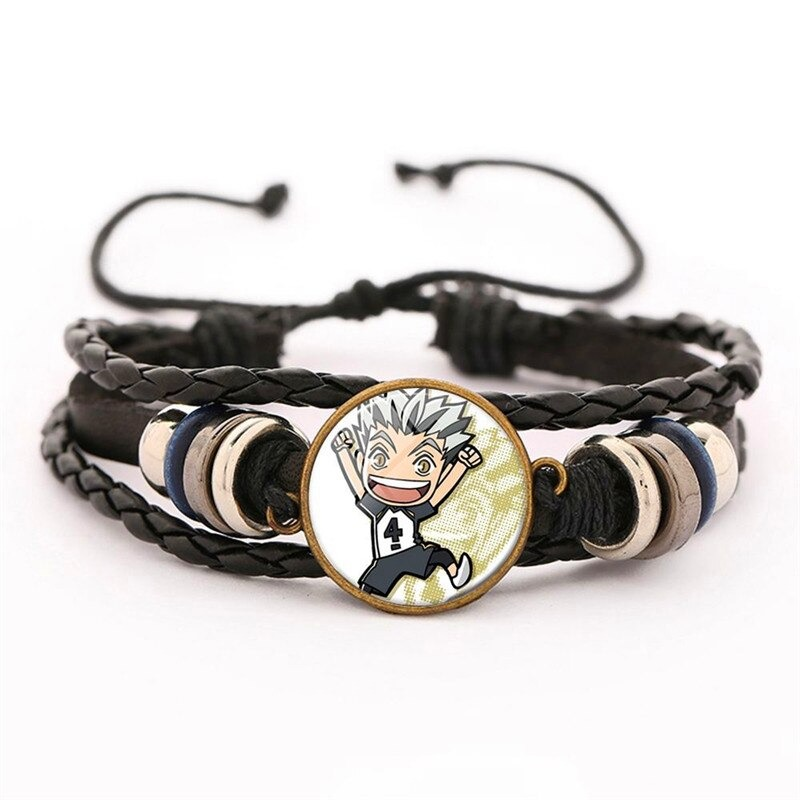 25 haikyuu oikawa tooru leather bracelet ac variants 24 - Haikyuu Merch Store