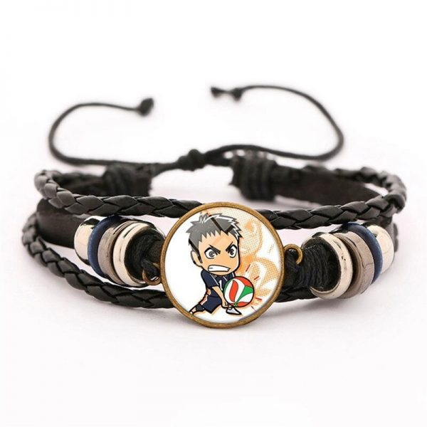 27 haikyuu oikawa tooru leather bracelet ac variants 26 - Haikyuu Merch Store