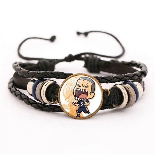 28 haikyuu oikawa tooru leather bracelet ac variants 27 - Haikyuu Merch Store