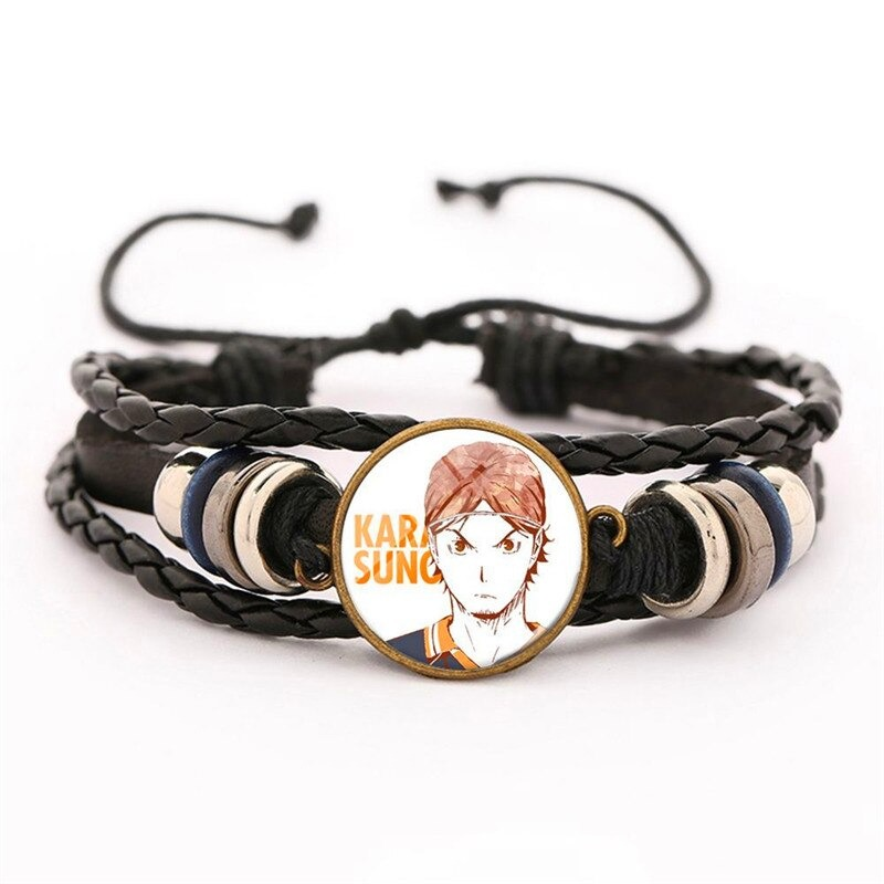 29 haikyuu oikawa tooru leather bracelet ac variants 28 - Haikyuu Merch Store