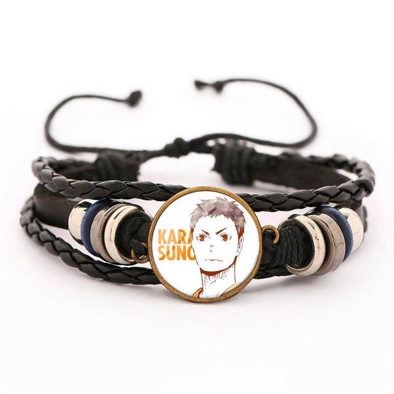 33 haikyuu oikawa tooru leather bracelet ac variants 32 - Haikyuu Merch Store