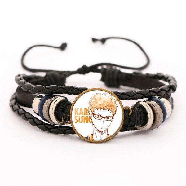 34 haikyuu oikawa tooru leather bracelet ac variants 33 - Haikyuu Merch Store
