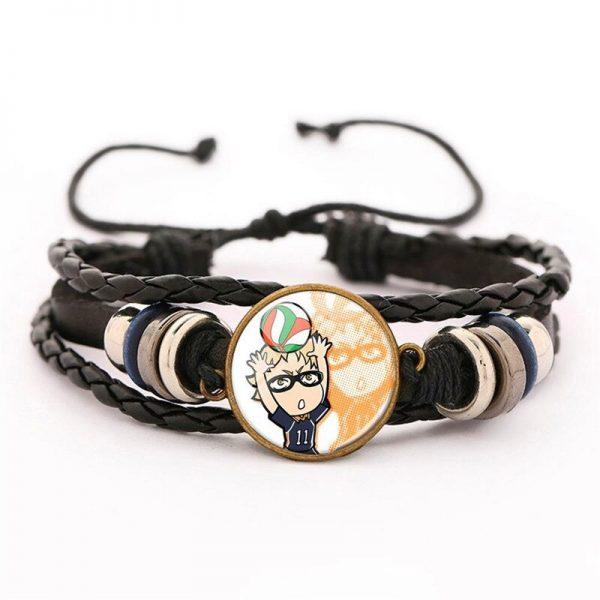 7 haikyuu oikawa tooru leather bracelet ac variants 6 - Haikyuu Merch Store