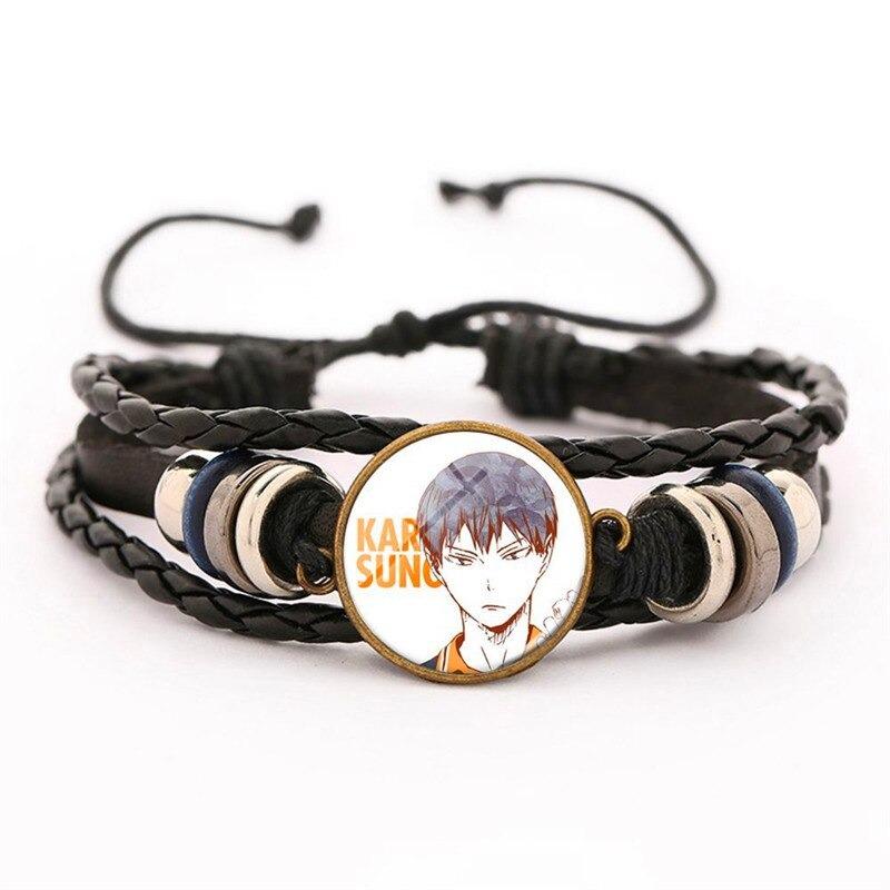 8 haikyuu oikawa tooru leather bracelet ac variants 7 - Haikyuu Merch Store