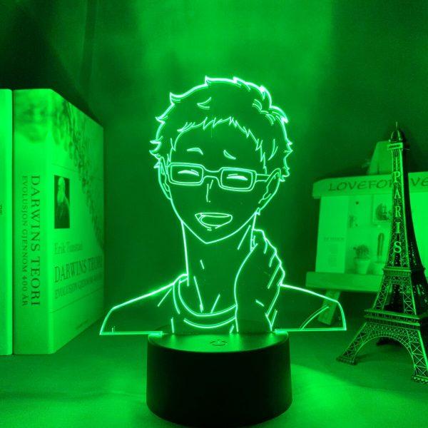 Anime Light Haikyuu Kei Tsukishima Kid Bedroom Decor Lamp Birthday Gift Manga 3D Night Light 1 - Haikyuu Merch Store
