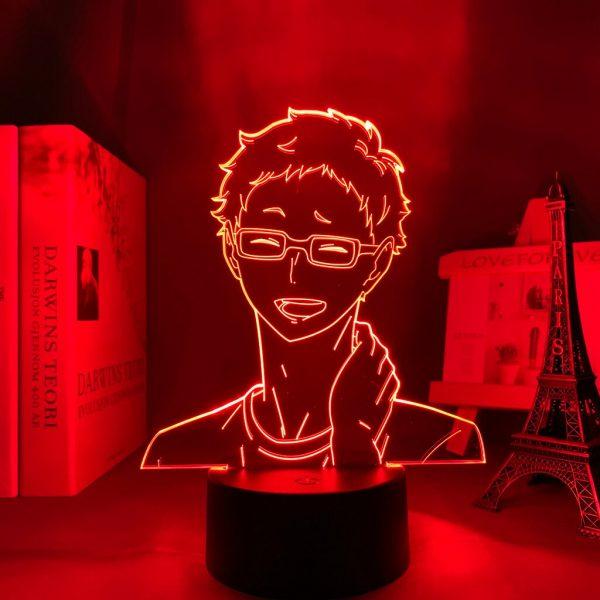 Anime Light Haikyuu Kei Tsukishima Kid Bedroom Decor Lamp Birthday Gift Manga 3D Night Light 3 - Haikyuu Merch Store