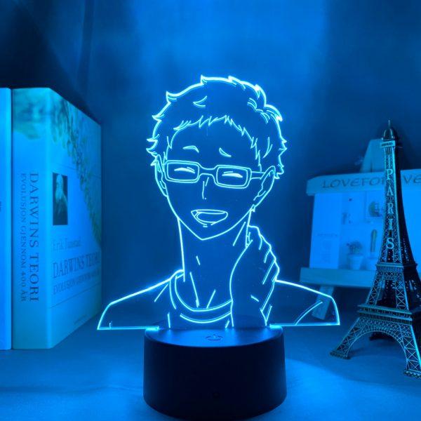 Anime Light Haikyuu Kei Tsukishima Kid Bedroom Decor Lamp Birthday Gift Manga 3D Night Light - Haikyuu Merch Store