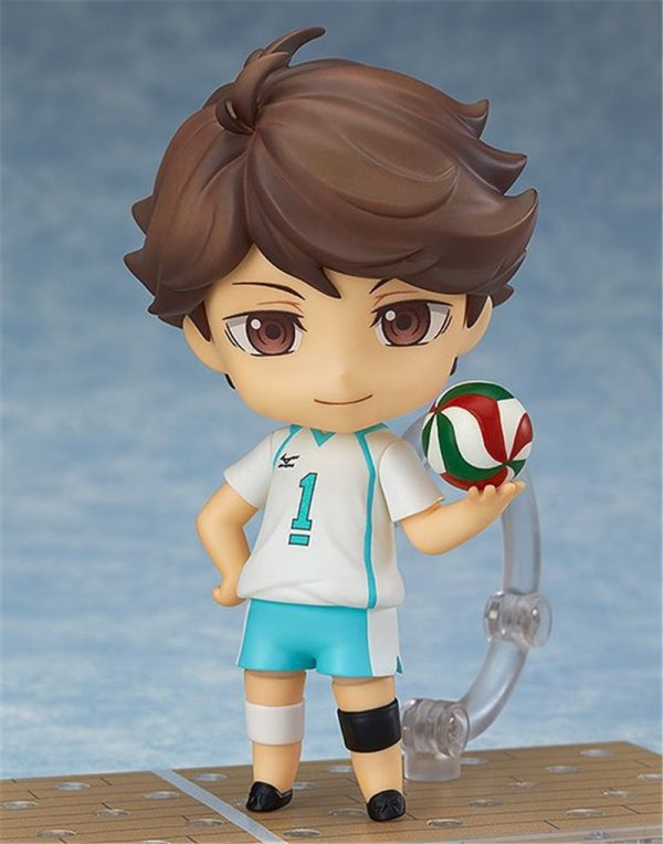 Cute Anime Haikyuu Volleyball Athlete Oikawa Tooru 563 PVC Action Figure Collection Model Kids Toys Doll 1 - Haikyuu Merch Store